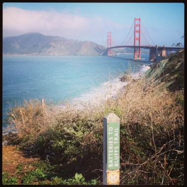 Presidio: Batteries to Bluffs Trail