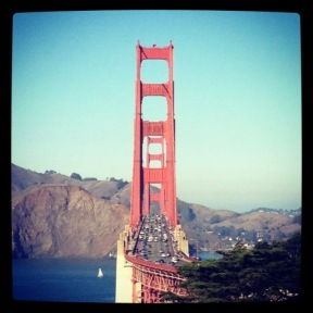 Golden Gate Bridge from Battery Cranston