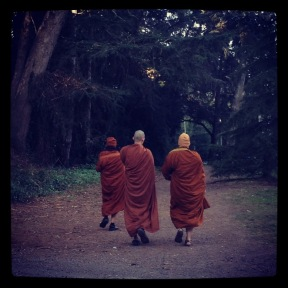 Golden Gate Park: Monks