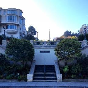 the Lyon Street Steps