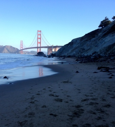 Marshall's Beach and the Golden Gate
