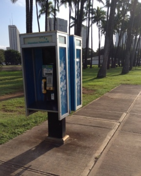 Phone Booth Hawaii